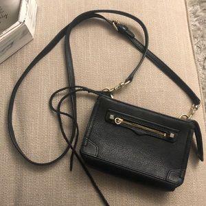 Rebecca Minkoff Small Black and Gold Crossbody bag